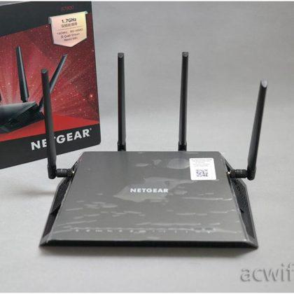 Unbox Netgear R6400 & evaluation comparison R6700 R6220